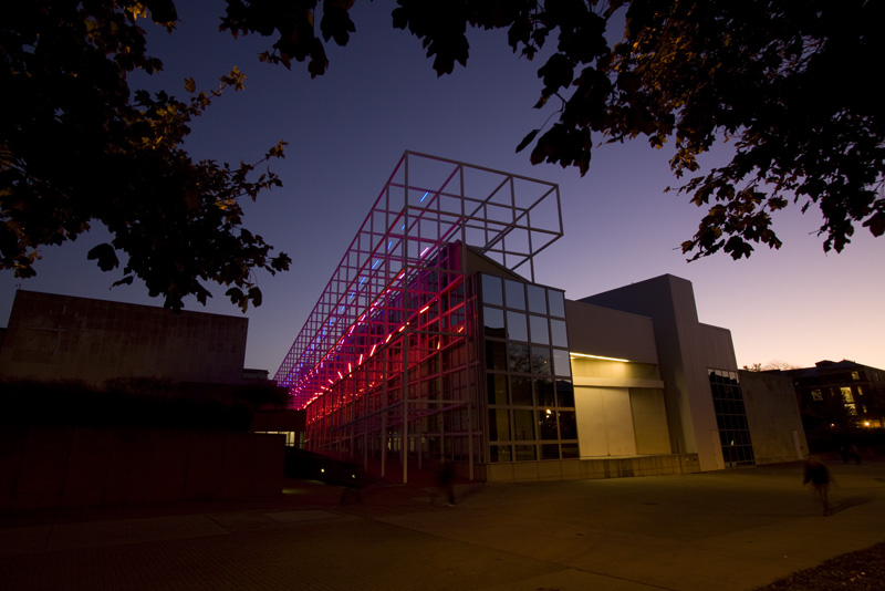 Erwin Redl  FETCH, 2010  Site-specific installation for the Wexner Center  LED-light installation   Courtesy of the artist and ACE GALLERY  Photo: Kevin Fitzsimons